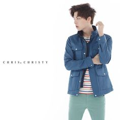 Ahn Jae Hyun for Chris Christy Mild Summer 2014 campaign