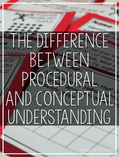 Learn the difference between the two types of understanding and how to provide opportunities of procedural and conceptual questioning in your classroom. We'll look at examples of word problems that impact learning. Classroom Procedures, Math Classroom, Classroom Setup, Classroom Organization, Classroom Management, Math Measurement, Math Fractions, Elementary Math, Upper Elementary
