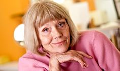 """Dame Diana Rigg, At age 76 still beautiful and talented. Quipped Rigg: """"Women of my age are still attractive. Men of my age are not."""""""
