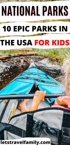 What are the best National Parks for kids? What are the most epic US National Parks for kids so that you can plan your family vacation? Check out this list of 10 epic National Parks in the USA including Glacier, Zion, and so many more! #nationalparks #familytravel #familyvacation #usnationalparks National Parks Usa, Rocky Mountains, Family Travel, Road Trip, Good Things, Vacation, Check, Kids, Family Trips