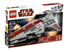 Compare prices on LEGO Star Wars Set Venator-class Republic Attack Cruiser from top online retailers. Save money on your favorite LEGO figures, accessories, and sets. Star Wars Jedi, Lego Star Wars, Star Wars Figure, Star Wars Stormtrooper, Star Wars Toys, Star Wars Art, Star Wars Clones, Star Destroyer, Obi Wan