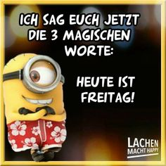 Minion Gif, Happy Minions, Lachen Macht Happy, Christian Dating Advice, Learn German, Smiley, Lol, Words, Funny