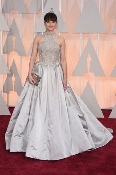 Felicity Jones - Arrivals at the 87th Annual Academy Awards