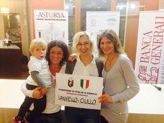 Jessica Iannello e Chiara Ciullo CAMPIONESSE d'ITALIA FOOTGOLF a coppie della @Federfootgolf