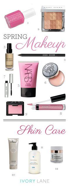 Spring Makeup & Skincare