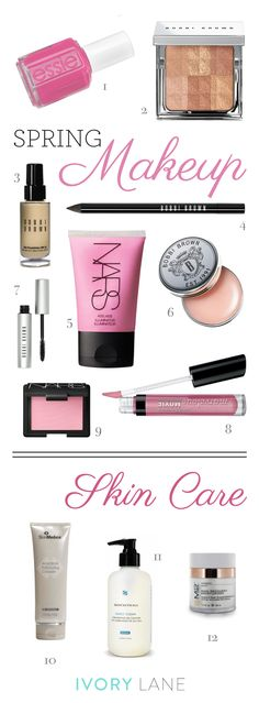 Spring Makeup  Skincare