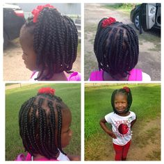Bob braids ,for the babies