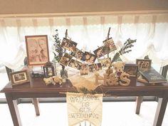 思い出の写真がたくさんある花嫁さん必見♡ウェルカムスペースにたくさんの写真を飾る方法*にて紹介している画像