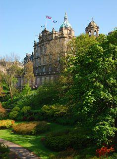 Edinburgh in Spring