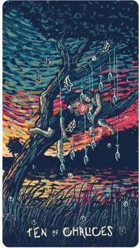 Tiết lộ Lá Ten of Chalices - Prisma Visions Tarot bài tarot
