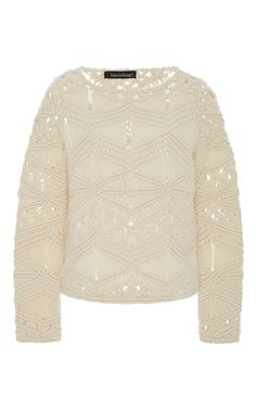 Tuva Macrame Sweater by TABULA RASA Now Available on Moda Operandi