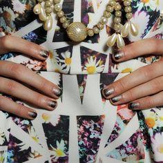 Glitter Ombré Nails - Shape Magazine