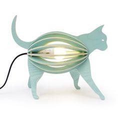 idée cadeau noël lampe design chat