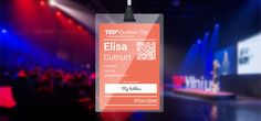 TEDx Name Badges