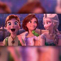Rapunzel in frozen fever