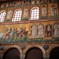 Ravenna's mosaics - gorgeous, intricate, and my 71st UNESCO site! - Instagram by @Kate McCulley