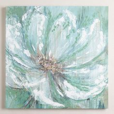 One of my favorite discoveries at WorldMarket.com: 'Celadon Splash' by Lynlie Carson This may just be my latest addition to the bedroom!  Ready to change some colors!!!!
