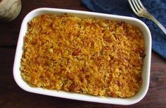 Arroz com atum no forno How To Cook Rice, Food To Make, Rice In The Oven, Tuna Rice, Kids Meals, Easy Meals, Portuguese Recipes, Food Inspiration, Macaroni And Cheese