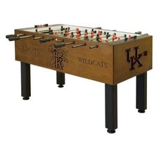 Check Out this Cool Kentucky Wildcats Foosball Table -