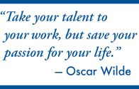 Oscar Wilde quote, PERFECT!