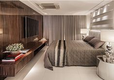 Bons sonhos com este quarto de casal inspirador e belo. Amei@pontodecor {HI} Snap:  hi.homeidea  http://ift.tt/23aANCi Projeto @cbarquitetos #bloghomeidea #olioliteam #arquitetura #ambiente #archdecor #archdesign #hi #cozinha #kitchen #homestyle #home #homedecor #pontodecor #iphonesia #homedesign #photooftheday #love #interiordesign #interiores  #picoftheday #decoration #world #instagood  #lovedecor #architecture #archlovers #inspiration #project #regram #quartocasal