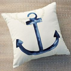 Shop outdoor anchor pillow from west elm. Find a wide selection of furniture and decor options that will suit your tastes, including a variety of outdoor anchor pillow. Outdoor Cushions And Pillows, Throw Pillows, Outdoor Pillow, Diy Pillows, Linen Pillows, Accent Pillows, Anchor Pillow, Memorial Day Sales, Adirondack Chairs For Sale