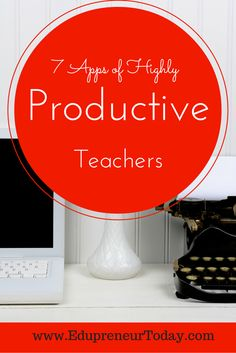 I define productivity as getting my most important things done as efficiently as possible. Being productive as a teacher includes balancing school and home life. These 7 apps will help every teacher stay productive in every setting.