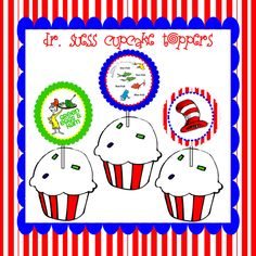 free cupcake topper printables