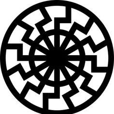 "Черное солнце - значение символа и оберега - ""Радогост"""