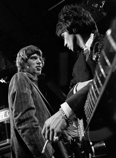 Mick Jagger and Keith Richards 1966