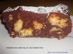 TERRINE DE CHOCOLAT AUX NOISETTES