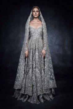 highfashionpakistan: Elan's piece for Swarovski Sparkling Couture Exhibition.