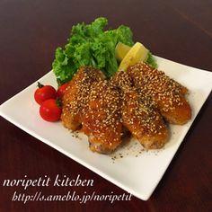 フライパンで揚げずに簡単♡名古屋風手羽先 by noripetit [クックパッド] 簡単おいしいみんなのレシピが248万品