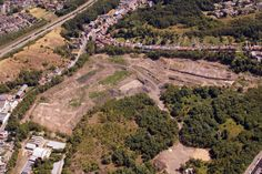 Vieille Montagne#spaque #remediation #rehabilitation #fricheindustrielle #brownfield #skyvues #vuesaeriennes