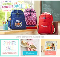 Georgine Saves » Blog Archive » Good Deal: Personalized Back-To-School Gear 15% Off