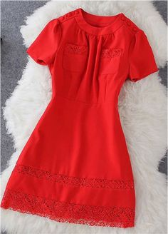 Dress in Red