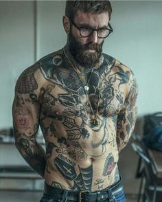 View the best mens hairstyles from Charlemagne Premium male.chalemagne-pr… View the best mens hairstyles from Charlemagne Premium male grooming and beard - Sexy Tattoos, Body Art Tattoos, Tattoos For Guys, Cool Tattoos, Tatoos, Best Tattoos For Men, Mens Body Tattoos, Biker Tattoos, Full Body Tattoo