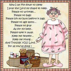 Amen!  Goodnight . . . .