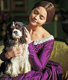 Behind the scenes of Victoria (including Jenna Coleman's wellies ...