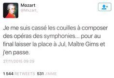 Mozart est énervé