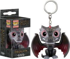 Drogon Pocket Pop! Vinyl Keychain | Game of Thrones | Funko | Popcultcha