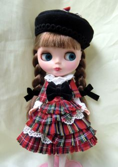 like the hat with the plaid dress