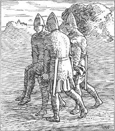 Halfdan Egedius (1877-1899), Norway, illustrated the norse king sagas (Snorre) - P_05.05.2013