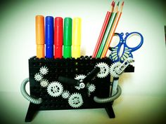 Hey, I found this really awesome Etsy listing at https://www.etsy.com/listing/240880120/lego-pencil-holder-metropolis