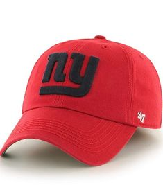 info for d1f35 564fc New York Giants Franchise Red 47 Brand Hat
