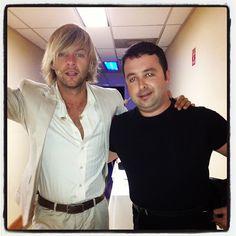 Keith & bandmate Barry Kerr in Atlantic City  Photo by keithharkin • Instagram