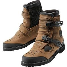 Icon Patrol Waterproof Boots - Brown