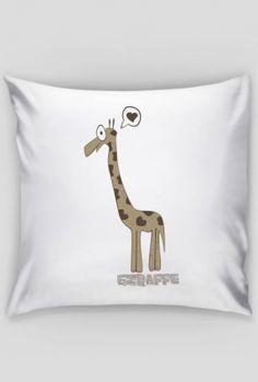 """"""" żyrafa """" poszewka na jasia"""