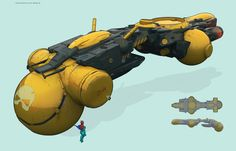 ships2 by Dmitry Chuprov   Sci-Fi   2D   CGSociety