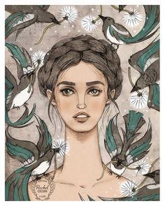 Petal to Petal: Artist Feature: The Wonderful work of Rachel Corcoran